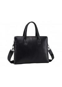Кожаная черная мужская деловая сумка NM17-6304-5A