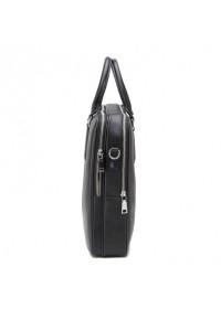 Портфель черный кожаный мужской NM17-9020-6A