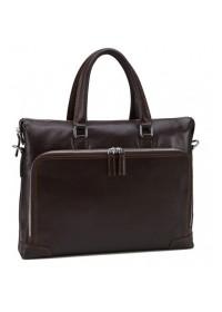 Коричневая мужская деловая сумка NM17-9065-5C
