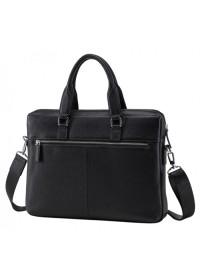 Черная сумка мужская кожаная деловая NM17-9080-5A