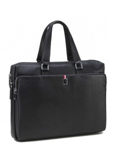 Фотография Кожаный портфель мужской - сумка для ноутбука NM17-9101-5A