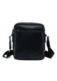 Черная мужская плечевая сумка NM17-9131-2A