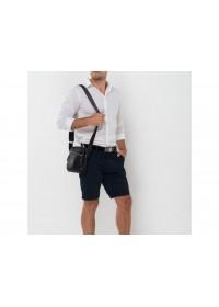 Кожаная мужская сумка через плечо NM17-9132-1A
