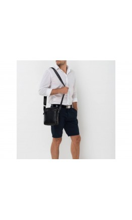 Кожаная мужская плечевая сумка NM17-9132-2A
