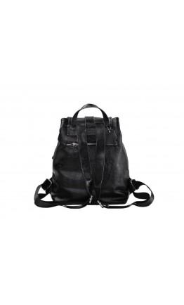 Рюкзак черный женский Olivia Leather NWBP27-5522A-BP