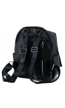Кожаный женский рюкзак черного цвета OLIVIA LEATHER NWBP27-6630A-BP