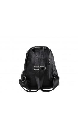 Черный женский рюкзак OLIVIA LEATHER NWBP27-7757A-BP