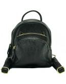 Фотография Черный кожаный небольшой женский рюкзак NWBP27-808A-BP