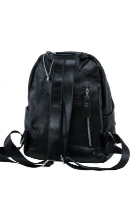 Рюкзак кожаный черный женский Olivia Leather NWBP27-8821A-BP