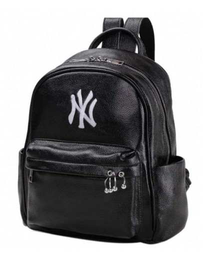 Фотография Кожаный черный женский рюкзачек NWBP27-8826A-BP