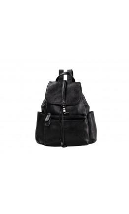 Черный рюкзак для женщин OLIVIA LEATHER NWBP27-8836A-BP