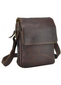 Коричневая мужская сумка на плечо Nm15-2460B
