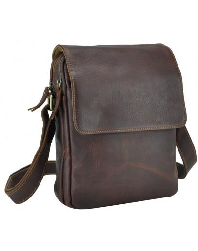 Фотография Коричневая мужская сумка на плечо Nm15-2460B