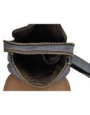 Фотография Кожаная серая сумка через плечо Nm15-2460G