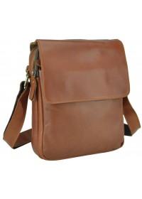 Мужская коричневая сумка через плечо Nm15-2460LB