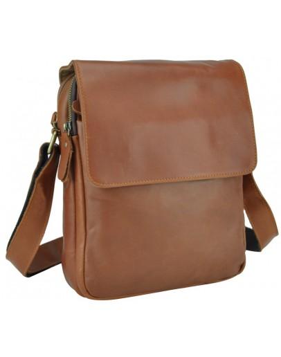 Фотография Мужская коричневая сумка через плечо Nm15-2460LB