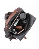 Фотография Текстильный мужской рюкзак черного цвета OEM-9031A