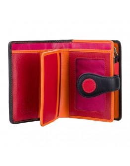Кожаный женский кошелек Visconti P3 Pluto c RFID (Verry Berry)