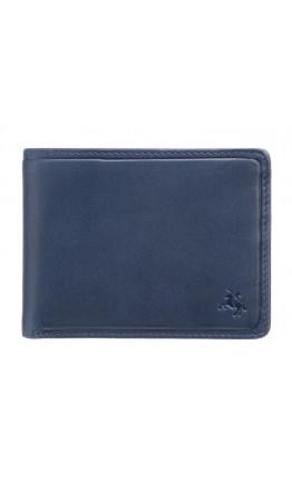 Оригинальный мужской кошелек Visconti PLR72 Segesta c RFID (Steel Blue-Orange)