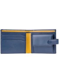 Синий кошелек Visconti PM100 Vincent c RFID (Blue Mustard)