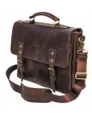 Фотография Коричневая кожаная сумка для мужчины Tarwa RСC-3960-4lx