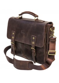 Коричневая кожаная сумка для мужчины Tarwa RСC-3960-4lx