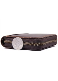 Коричневый мужской кошелёк, кожаный R-8887Q-2