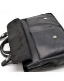 Фотография Мужская черная винтажная кожаная деловая сумка Tarwa RA-7107-1md