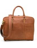 Фотография Кожаная коричневая сумка из натуральной кожи Tarwa RB-4765-4lx