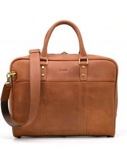 Кожаная коричневая сумка из натуральной кожи Tarwa RB-4765-4lx