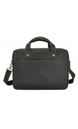 Коричневая винтажная сумка для ноутбука и документов RB012R