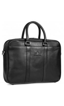 Деловая кожаная мужская сумка для ноута и документов Royal RB023A