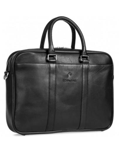 Фотография Деловая кожаная мужская сумка для ноута и документов Royal RB023A