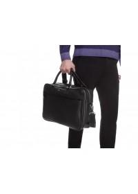 Мужская кожаная удобная деловая сумка Royal RB026A