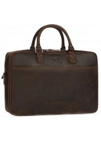 Коричневая винтажная мужская деловая сумка Royal RB026R