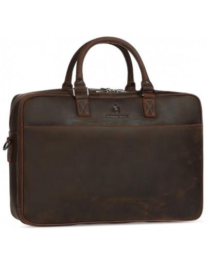 Фотография Коричневая винтажная мужская деловая сумка Royal RB026R