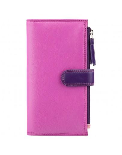 Фотография Розовый кошелек Visconti RB100 Bermuda c RFID (Berry Multi)