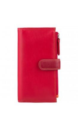 Красный кошелек Visconti RB100 Bermuda c RFID (Red Multi)