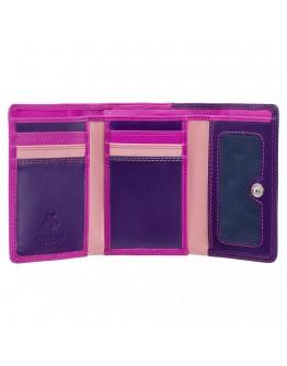 Розовый кошелек Visconti RB39 Biola c RFID (Berry Multi)