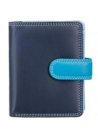 Голубой кошелек Visconti RB40 Bali c RFID (Blue Multi)