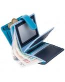 Фотография Голубой кошелек Visconti RB40 Bali c RFID (Blue Multi)
