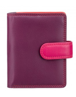 Бордовый кошелек Visconti RB40 Bali c RFID (Plum Multi)