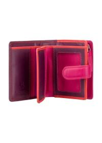 Бордовый кошелек Visconti RB40 Bali c RFID (Plum Multi)