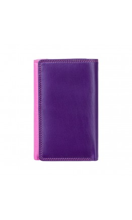 Розовый женский кошелек Visconti RB43 Bora c RFID (Berry Multi)