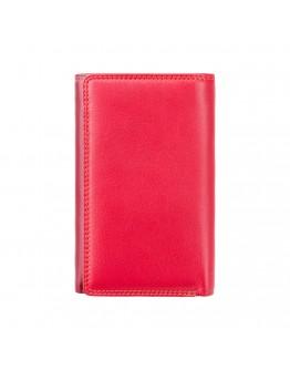 Красный женский кошелек Visconti RB43 Bora c RFID (Red Multi)
