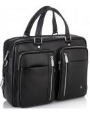 Фотография Мужская городская кожаная деловая сумка Royal RB50021