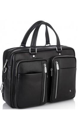 Мужская городская кожаная деловая сумка Royal RB50021