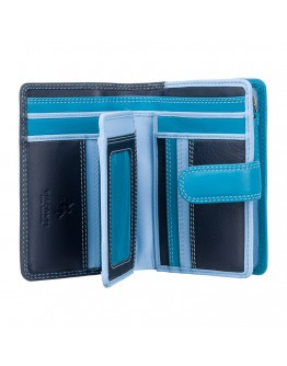 Мужской кошелек Visconti RB51 Fiji c RFID (Blue Multi)