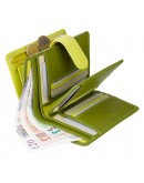 Фотография Кошелек лаймового цвета Visconti RB51 Fiji c RFID (Lime Multi)
