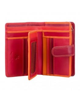 Красный кошелек Visconti RB51 Fiji c RFID (Red Multi)
